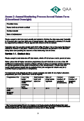 1 Annex 2- Annual Monitoring Process Annual Return Form (Educational Oversight) thumbnail