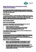 Higher Education Review (Alternative Providers)- Guidance for Facilitators thumbnail