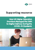 How UK higher education providers managed the shift to digital delivery during the COVID-19 pandemic thumbail