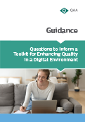 Questions to Inform a Toolkit for Enhancing Quality in a Digital Environment cover thumbnail