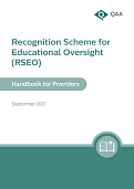 RSEO review report cover