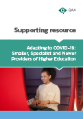 Smaller, Specialist or Newer Providers of Higher Education thumbnail