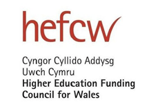 Higher education Funding Council for Wales logo