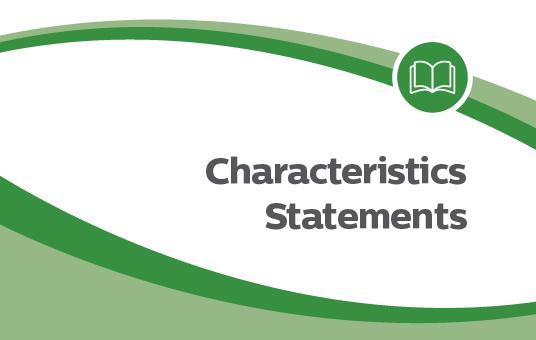 Characteristics statements news item-03